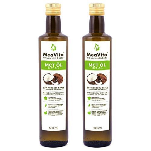 MeaVita MCT Öl, Premium Qualität...
