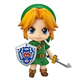 MKXULO Figura de Zelda The Legend of Zelda Link Majora'S Mask Juego PVC 10cm Q Ver. Figuras de Figuras de acción de muñeca de Juguete Zelda Link