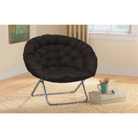 Oversized Moon Chair - Black