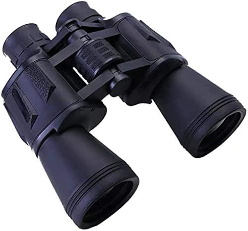 DGHJK Telescopio 20 & Times; 50 con Adaptador de teléfono móvil HD Prismáticos Impermeables y antivaho HD BAK4 Prisma Lente Adecuada para Deportes al Aire Libre como Ver Animales