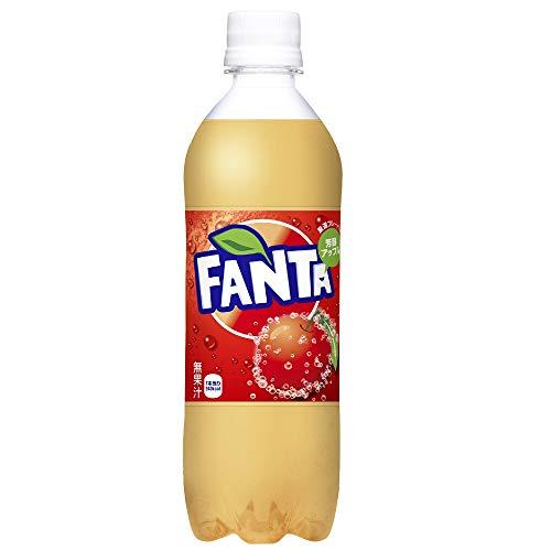 コカ・コーラ ファンタ厳選フレーバー 芳醇アップル490mlPET ×24本