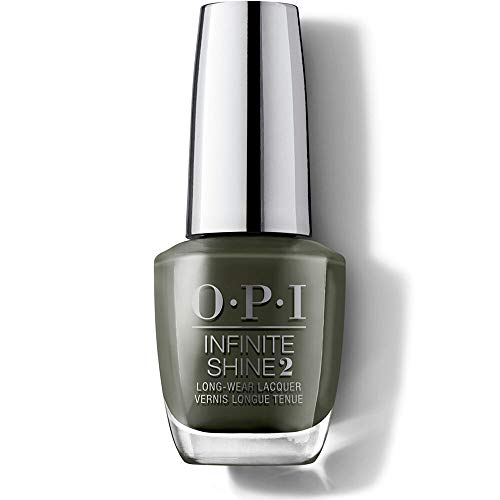 OPI Infinite Shine 2 Long-Wear Lacquer, Things I've Seen in Aber-green, Green Long-Lasting Nail Polish, Scotland Collection, 0.5 fl oz