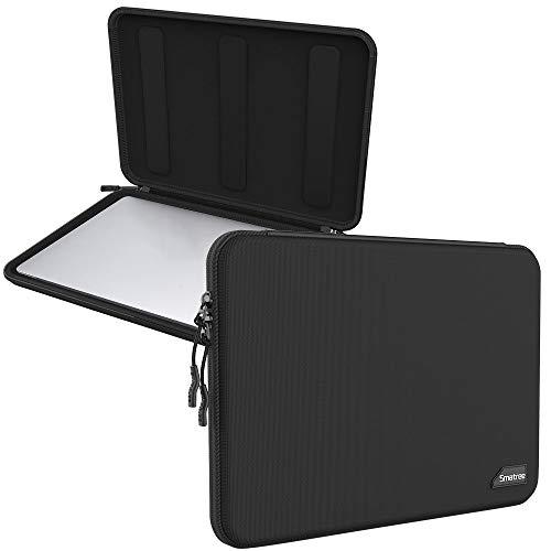 Smatree Hartschalen Tragetasche für 13,3 Zoll MacBook Pro 2013-2018 2019 2020 / MacBook Air 2013-2017 2018-2020 / Retina Bildschirm / 13,5 Zoll Surface Laptop 4/3 Hülle - Schwarz