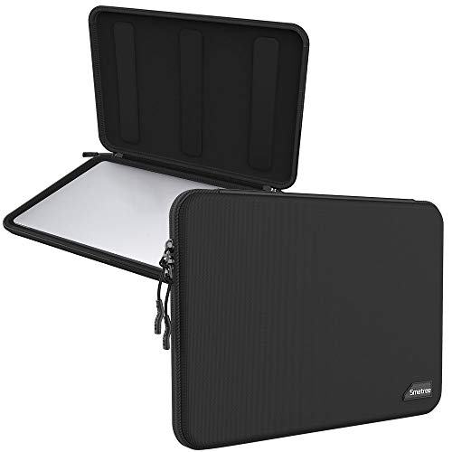 Smatree 13 inch Hard Shell Laptop Carrying Case for 13 inch Macbook Pro 2013-2018 2019 2020 / Macbook Air 2013-2017 2018-2020/ 13.5 inch Surface Laptop 3, Black