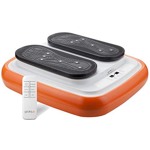 GRIDINLUX | Ejercitador de Piernas | TRAINER LEGS SMART | Gimnasia Pasiva | Mando a Distancia | 3 Programas | Estimulación magnética | Altura Regulable | Intensidad Ajustable