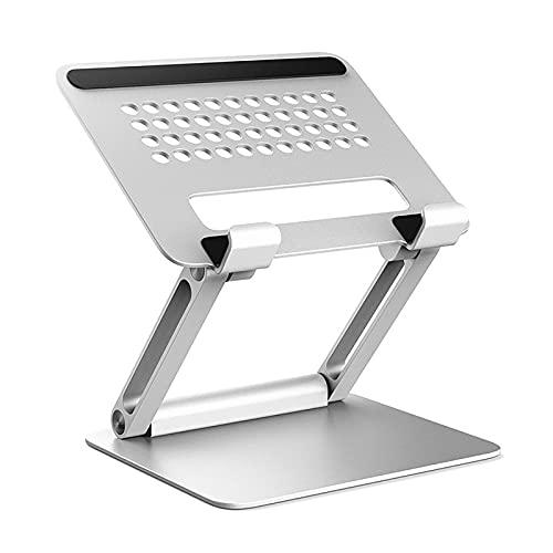 SunshineFace Soporte para ordenador portátil plegable ajustable para computadora portátil Tablet Holder Soporte de refrigeración para tableta portátil debajo de 13.3 pulgadas
