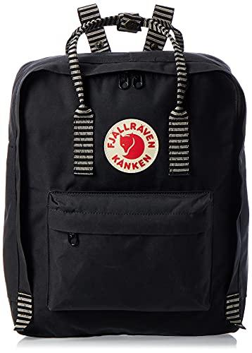 Fjallraven, Kanken Classic Backpack for Everyday, Black/Striped