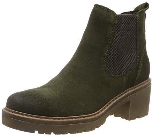 MARCO TOZZI Damen 2-2-25831-23 Chelsea Boots, Grün (Khaki Comb 726), 41 EU