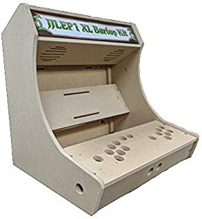 Easy to Assemble 2 Player LVL23 XL Bartop/Tabletop Arcade Cabinet Kit (Sanwa)
