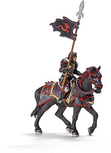 SCHLEICH - Eldrador, Drachenritter zu Pferd/Lanze