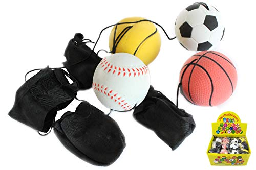 Creation Gross Springball 4er Set Armband & Schnur Fußball Basketball Tennis Baseball (9800010)