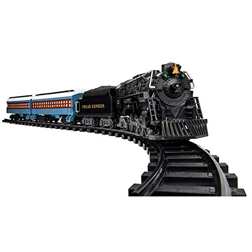 Black Friday Deal: Polar Express Detailed Ready-To-Play Battery Operated Remote Controlled Holiday Train Set