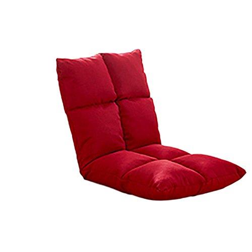 L-R-S-F Canapé paresseux Canvas Canvas chaise unique pliable canapé-lit dossier chaise balcon baie vitrée loisirs chaise longue (Couleur : J)