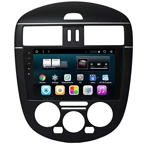TOPNAVI Android 7.1 Navigation GPS pour Nissan Tiida L 2011 2012 2013 2014 2015 Auto Radio Stéréo avec 32 Go de ROM 2 Go de RAM WiFi 3G RDS Lien Miroir FM AM BT Audio Vidéo