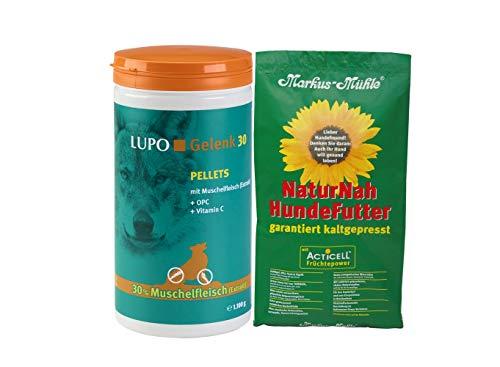 Luposan Lupo Gelenk 30 PELLETS 1100g + 1,5kg NaturNah Hundefutter gratis!!!