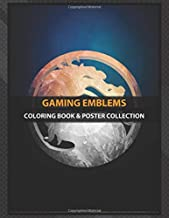 Coloring Book & Poster Collection: Gaming Emblems Mortal Kombat With 3d Effect And Beautiful Tone Movies