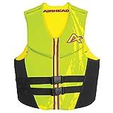 Airhead Adult Swoosh Kwik-Dry Neolite Flex Life Vest, Green, XX-Large