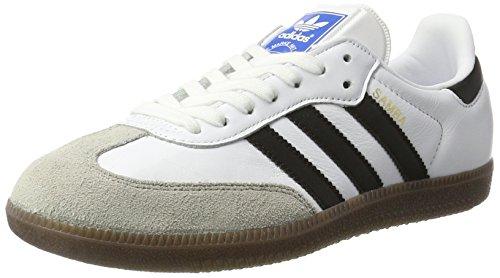 adidas Samba OG, Zapatillas para Hombre, Blanco (Footwear White/Core Black/Clear Granite), 42 2/3 EU
