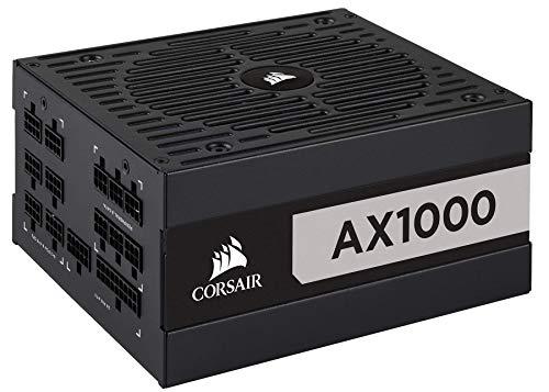 CORSAIR AX Series, AX1000, 1000 Watt, 80+ Titanium Certified,...