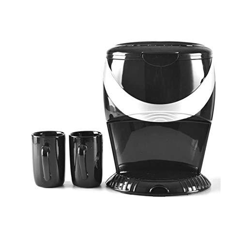 UNU_YAN Moderna Simplicity Home Macchina da caffè Automatica a Vapore Drip Mini Macchina per caffè Espresso Macchina per caffè Espresso Altre Bevande Automatiche, Plastica, 500W (Colore Nero)