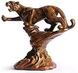 ZCYXQR Décorations pour la Maison européenne créative Armoire à vin casier à vin Meubles Cadeaux Simples Ornements de Maison léopard Salon