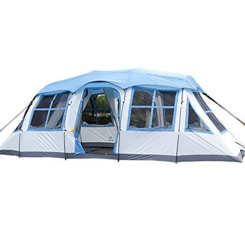 Tent chapiteaux Camping Extérieure Wild Rain Familiale Qualité Grande 8 Personnes 10 Personnes 12...