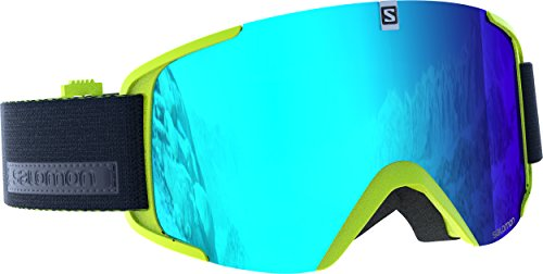 Salomon, Unisex Ski Goggles, Sunny Weather, Multilayer Blue lens...