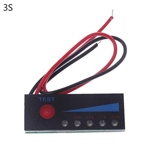 Qiman Li-Ion Lipo Lithium 12V Blei Säure Batterie Füllstandsanzeige Tester LCD Anzeigen Meter Modul Kapazitäts Spannung Des 3.7V 2S 3S 4S 18650