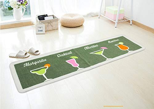 HSXQQ Anti-slip Keuken mat deurmat voor ingang deur gang tapijt keuken deur mat tapijt voor keuken woonkamer vloermat