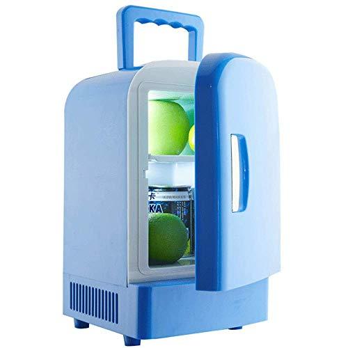 FZYE Mini Nevera portátil, compacta para el Cuidado de la Piel, bajo Consumo de energía, Alta eficiencia, Nevera portátil para Bebidas, 12 V, 220 V, para automóviles, hogares, oficinas,