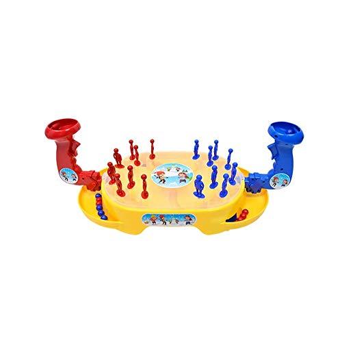 SYXX Jouets éducatifs for enfants, Puzzle Ejection Marbles, jeu de table jouets, boule de neige Combat de bureau Puzzle éjecteurs Jouets, Bureau Éducation préuniversitaire Jouets (bonhomme de neige Wa