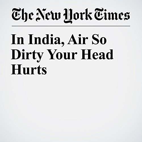 『In India, Air So Dirty Your Head Hurts』のカバーアート