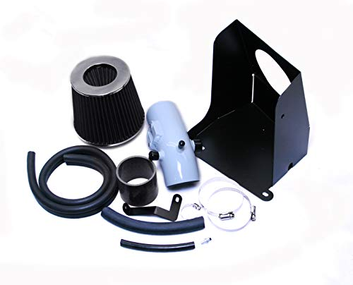 Performance HEATSHIELD Cold AIR Intake KIT + Filter for 2006-2012 Ford Fusion 2.3 2.3L 2.5 2.5L L4 Engine