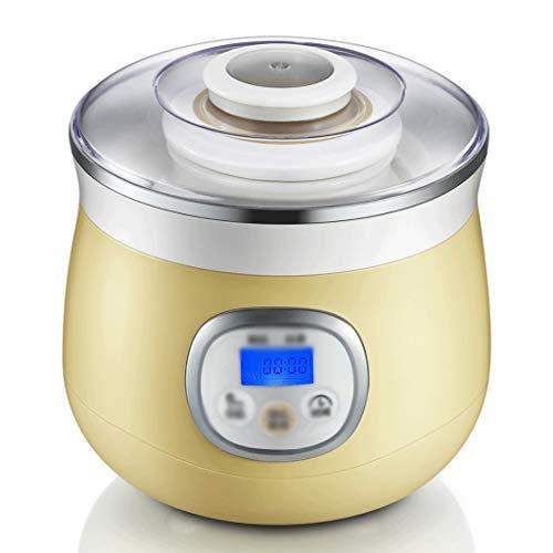 YILIAN Yogur de la máquina - Inicio automático de Vino de arroz de la máquina, de Gran Capacidad de cerámica Liner Mini Timing