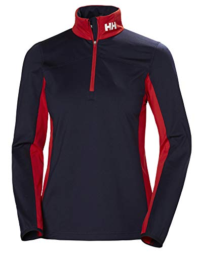 Helly Hansen Damen Phantom 1/2 Zip 2.0 Licht Dehnbar Fleece-Pullover, Navy, M