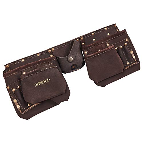 Am-Tech 12 Pocket Heavy Duty Leather Tool - 2
