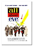 All About Eve Poster, A2, ungerahmt, amerikanisches Drama,