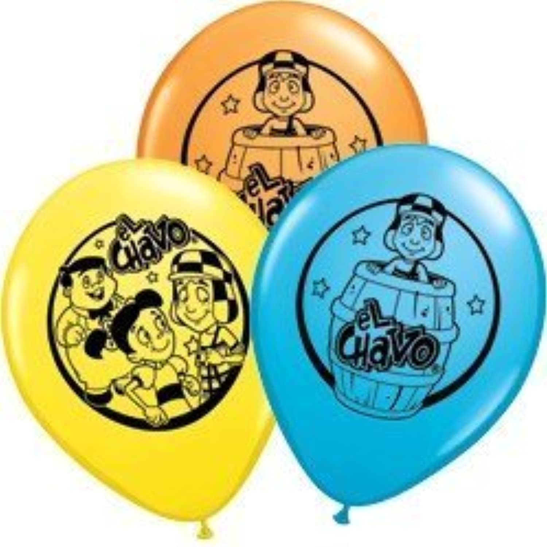 11 El Chavo Printed Latex Balloons by Qualatex