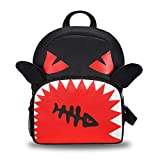 INFANZIA Toddler Mini Backpack with Leash Safety Harness,Bookbag Travel Hiking Bag for Baby Kids Girl Boy 1-6 Years (Little Devil)