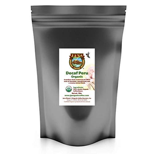 Java Planet, Organic Coffee Beans, Decaf Peru...
