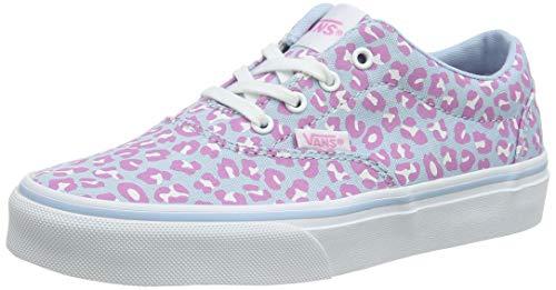 Vans Mädchen Doheny Sneaker, Blau ((Cheetah) Dream Blue/White WG1), 34 EU