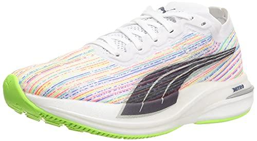Puma Deviate Nitro SP Wns, Zapatillas de Running Mujer, White-Gr, 40 EU