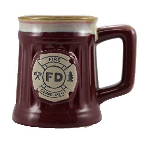 Porcelain Firefighter Coffee Mug
