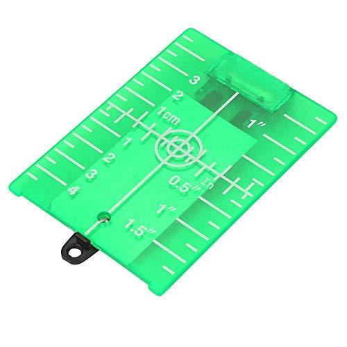 Doppelte magnetische Zielplatte mit Bein für Laser-Pegelmesser Cross Line(Green)