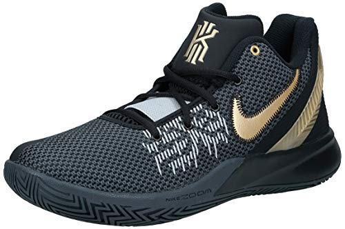 Nike Kyrie Flytrap II, Chaussures de Basketball Homme, Multicolore (Black/Metallic Gold/Anthracite 000), 48.5 EU