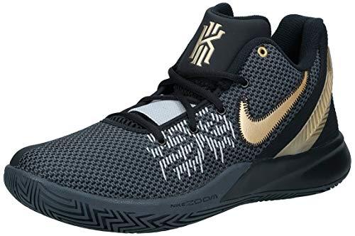 Nike Men's Basketball Shoes, Multicolour Black Metallic Gold Anthracite 004, US:5.5