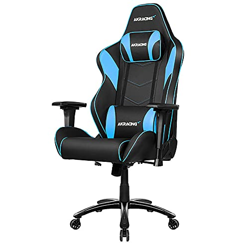 AKRACING Chair Core LX Plus Gaming Stuhl, PU-Kunstleder, Schwarz/Blau, One Size