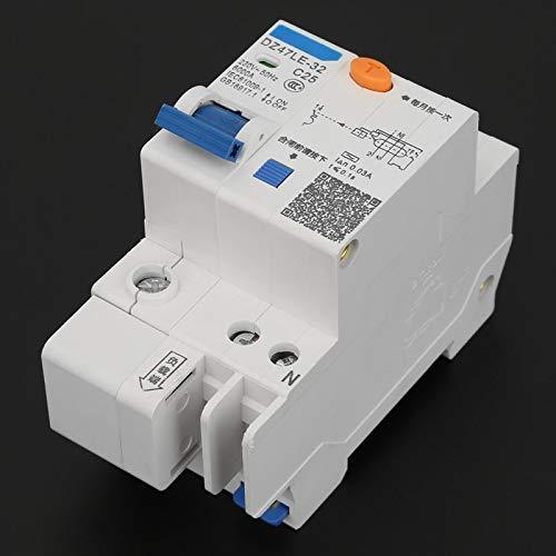 DZ47LE-32 230V 25A scatola sagomata C25 interruttore di corrente per la decorazione domestica