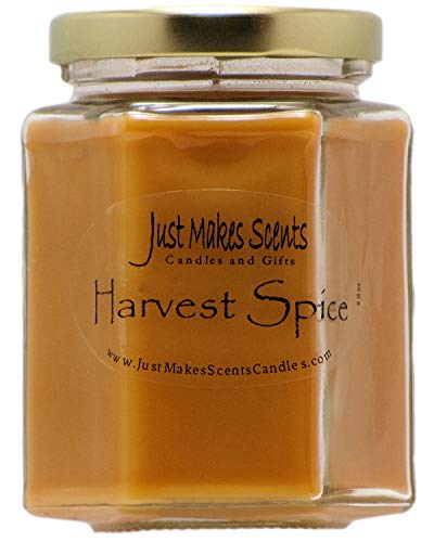 Harvest Spice Scented Blended Soy Candle | Fall Fragrance Candles | Hand Poured in The USA