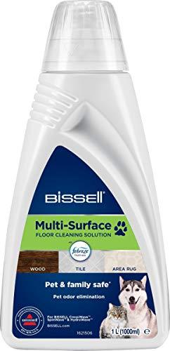 BISSELL 2550 Formule Multi-Surfaces Febreze nettoyant-à Utiliser Pet Pro, Crosswave et Spinwave, Blanc